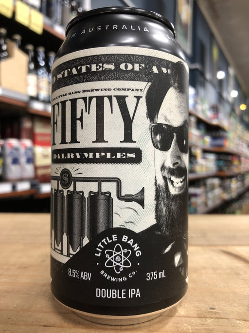 Little Bang 50 Dalrymples DIPA 375ml Can