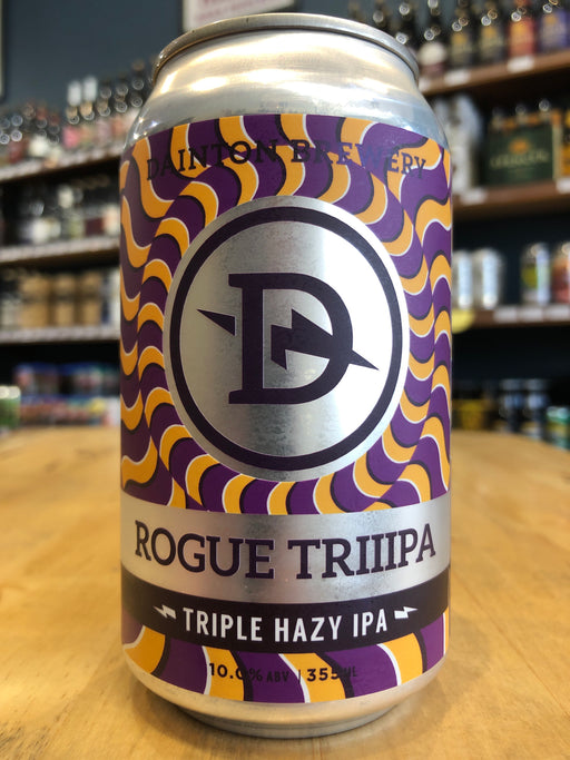 Dainton Rogue Triiipa Triple Hazy IPA 355ml Can