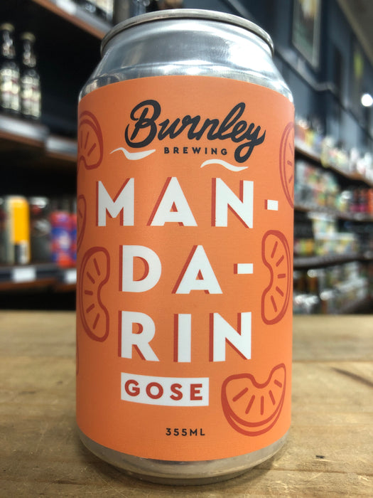 Burnley Brewing Mandarin Gose 375ml Can