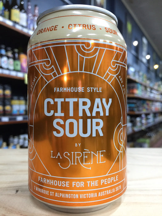 La Sirène Citray Sour 330ml Can