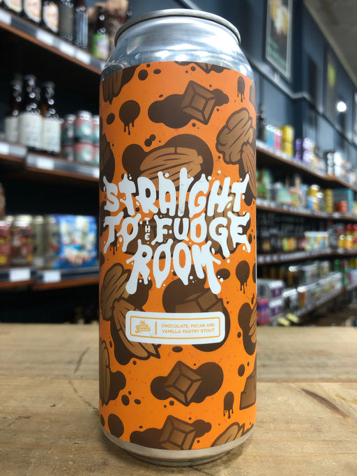 Mr Banks Straight To The Fudge Room - Imperial Pastry Stout 500ml Can