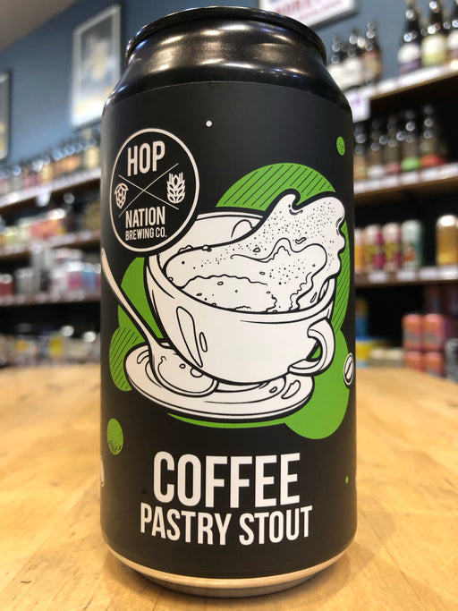 Hop Nation Coffee Pastry Stout 375ml Can