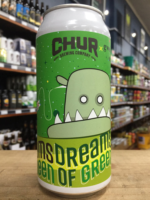 Chur Dreams Of Green Double IPA 440ml Can