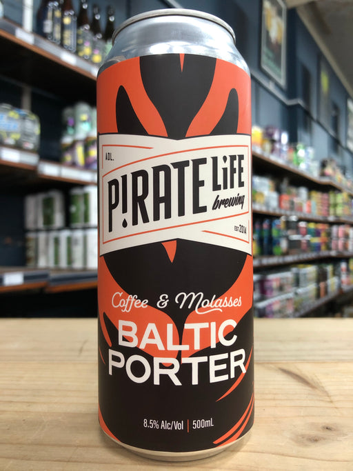 Pirate Life Coffee & Molasses Baltic Porter 500ml Can
