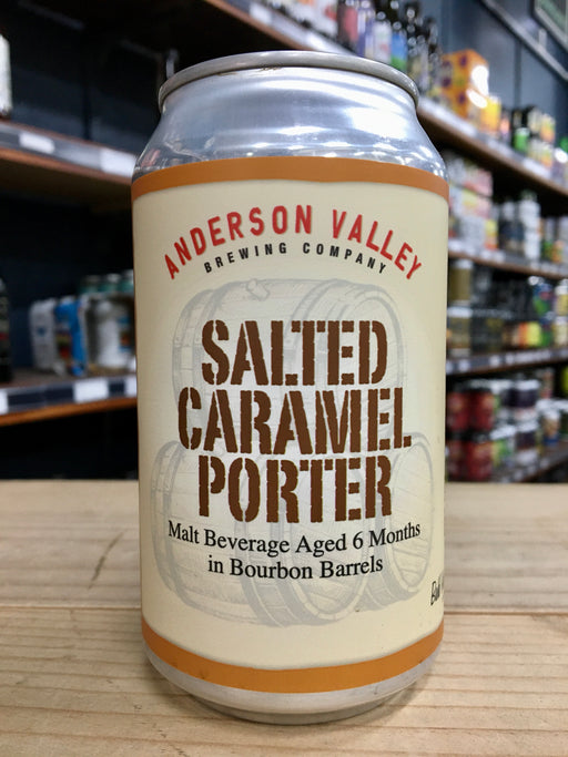 Anderson Valley Salted Caramel Bourbon Barrel Aged Porter 355ml Can
