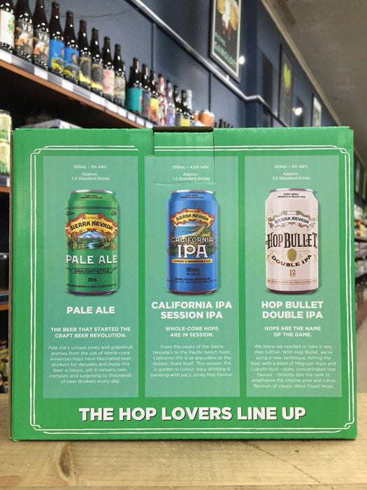 Sierra Nevada Hop Lovers Taster Pack