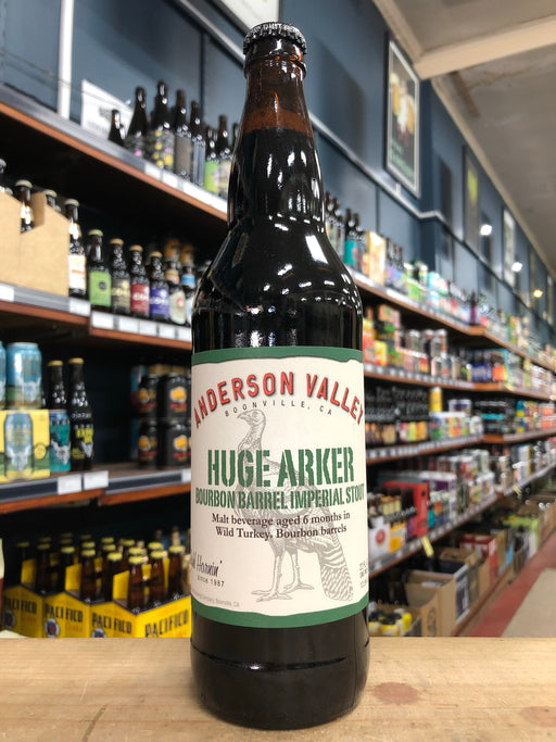 Anderson Valley Huge Arker Bourbon Barrel Imperial Stout 650ml