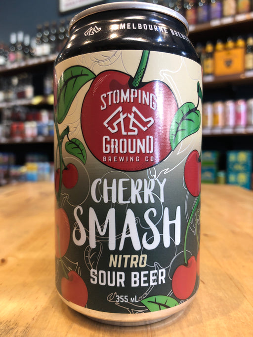 Stomping Ground Cherry Smash Nitro Sour 355ml Can