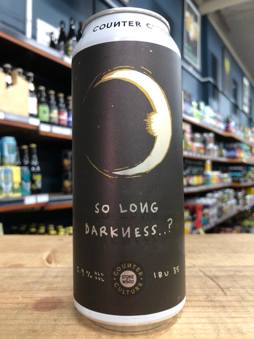 Stone & Wood Counter Culture: So Long Darkness 500ml Can