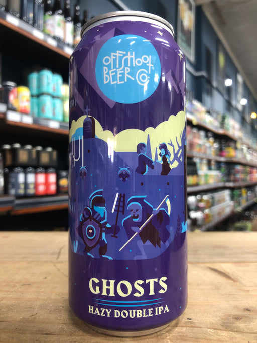 Offshoot Ghosts Hazy DIPA 473ml Can