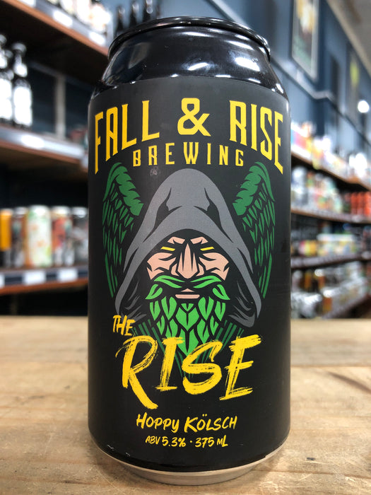 Fall & Rise The Rise Hoppy Kölsch 375ml Can