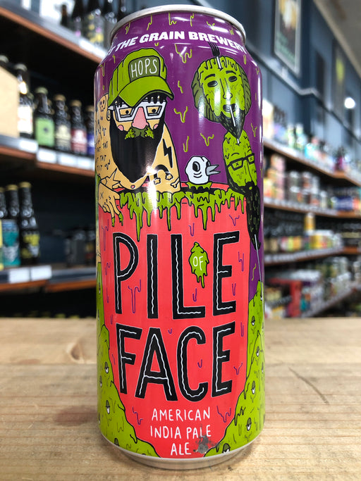 Against the Grain Pile of Face American IPA 473ml Can