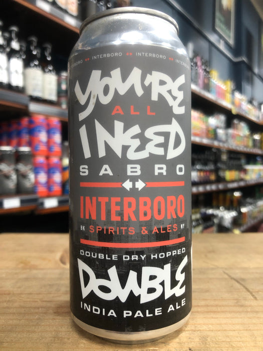 Interboro You're All I Need Sabro 473ml Can