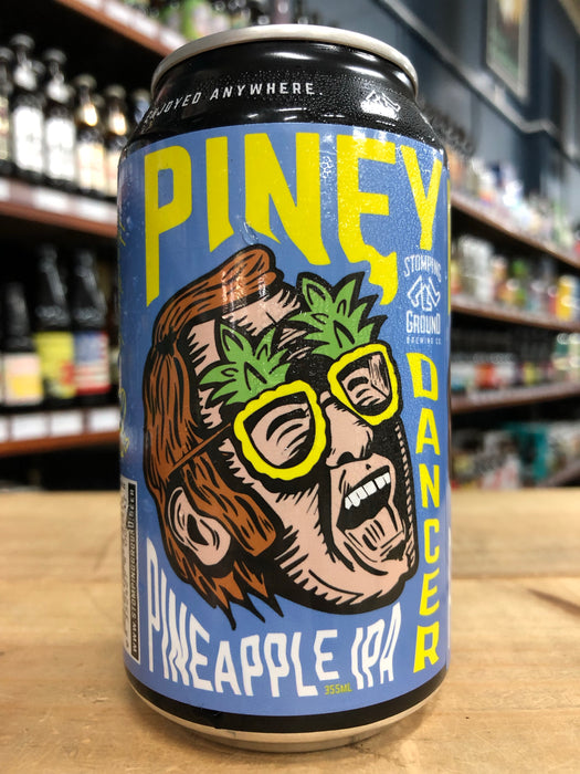 Stomping Ground Piney Dancer Pineapple IPA 355ml Can