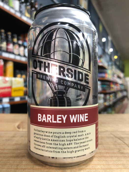 Otherside Experimental Barley Wine 375ml Can