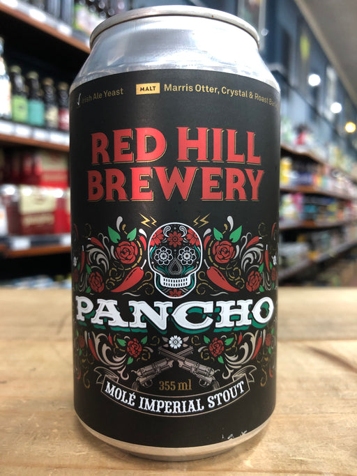 Red Hill Pancho Mole Imperial Stout 355ml Can