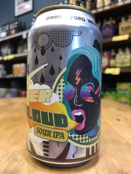 Bodriggy Thundercloud Coconut & Mango Sour IPA 355ml Can