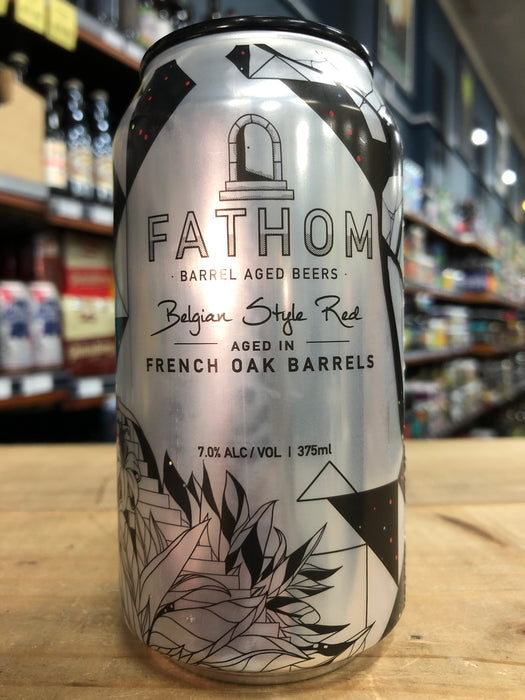Green Beacon Fathom Belgian Style Red Ale 375ml Can