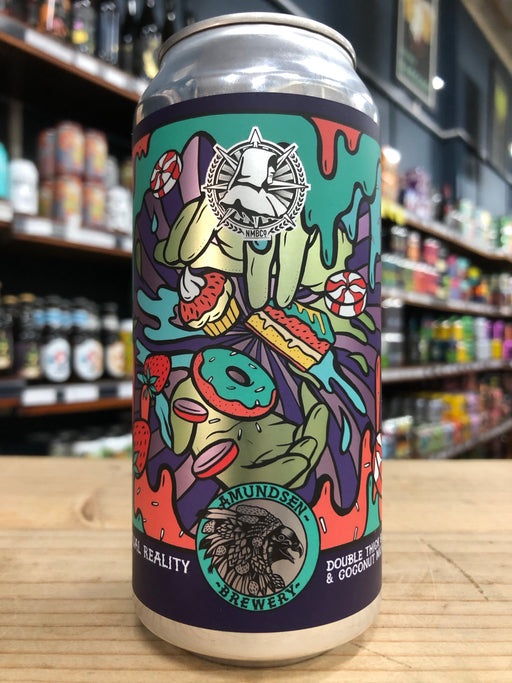 Amundsen Virtual Reality Double Thick Blueberry & Coconut Milkshake IPA 440ml Can