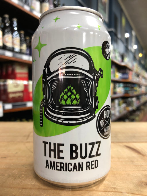 Hop Nation The Buzz AmeriCan Red Ale 375ml Can