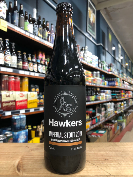Hawkers Bourbon Barrel-Aged Imperial Stout 2019 500ml