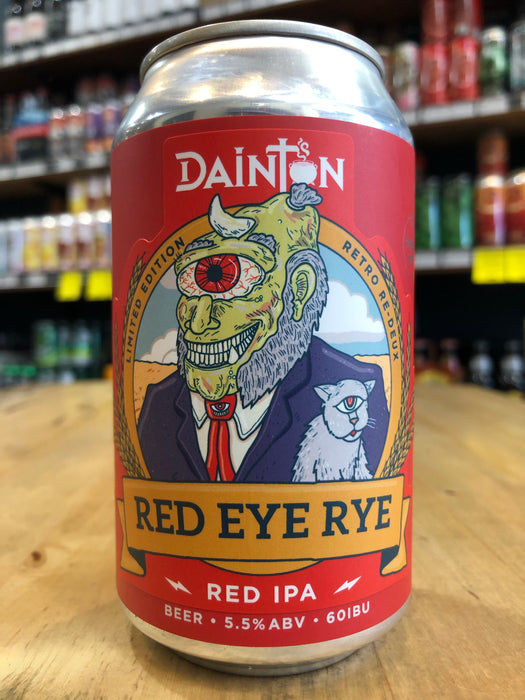 Dainton Red Eye Rye 355ml Can