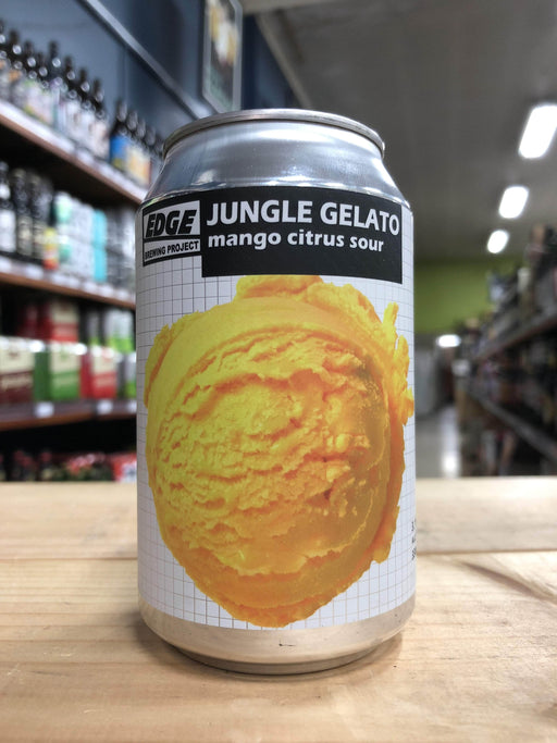 Edge Jungle Gelato Mango Citrus Sour 330ml Can - Purvis Beer