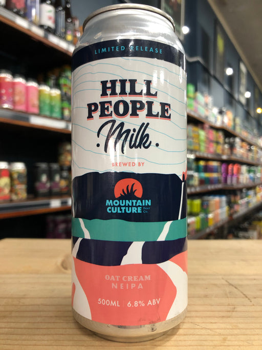Mountain Culture Hill People Milk Oat Cream NEIPA 500ml Can