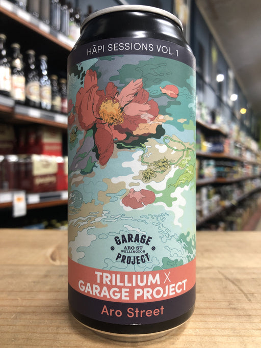 Garage Project Aro Street - Hāpi Sessions Vol 1: Trillium 440ml Can - [Limit 1 per customer]