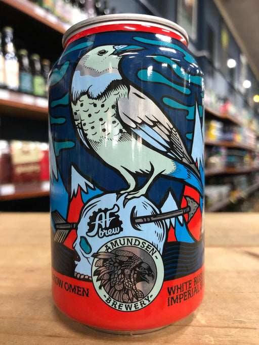 Amundsen / AF Brew White Crow Omen 330ml Can