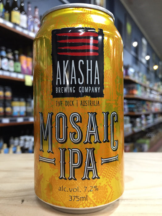 Akasha Mosaic IPA 375ml Can