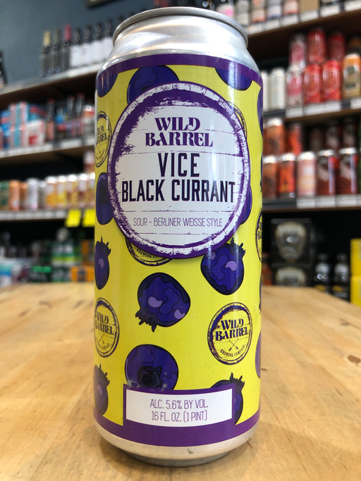 Wild Barrel Brewing Vice w/ Blackcurrant 473ml Can