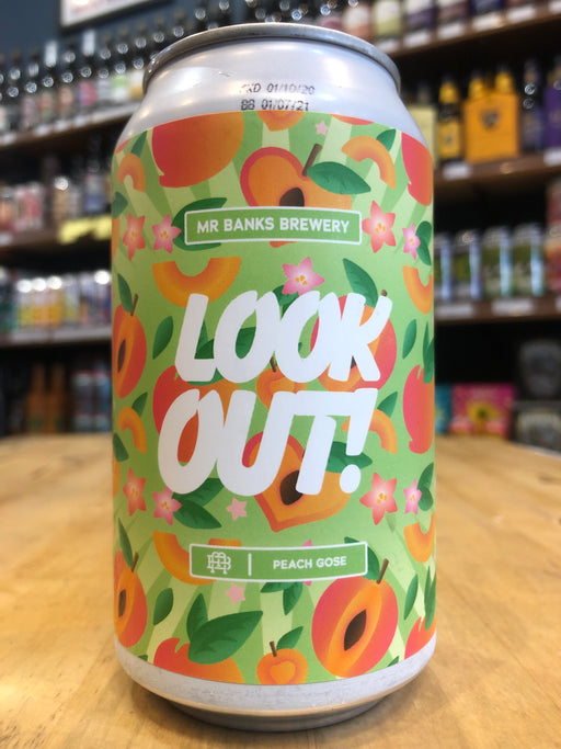 Mr Banks Look Out Peach Gose 355ml Can
