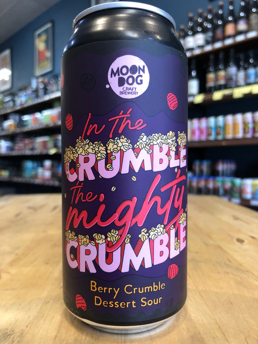 Moon Dog In The Crumble The Mighty Crumble Berry 440ml Can