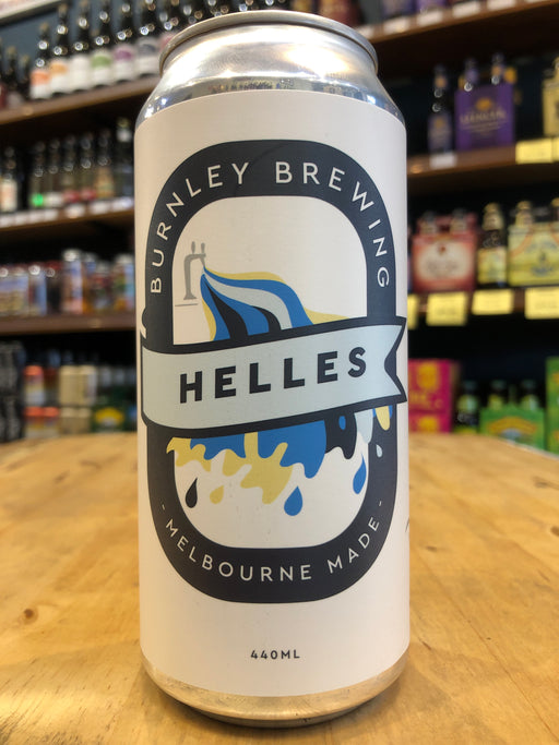 Burnley Helles Lager 440ml Can