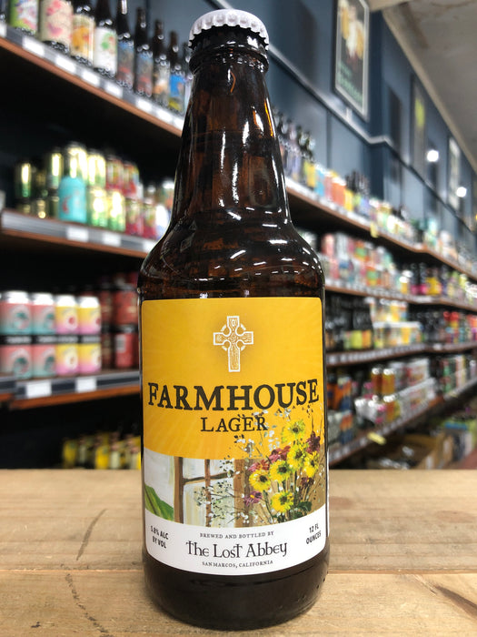 The Lost Abbey Farmhouse Lager 355ml