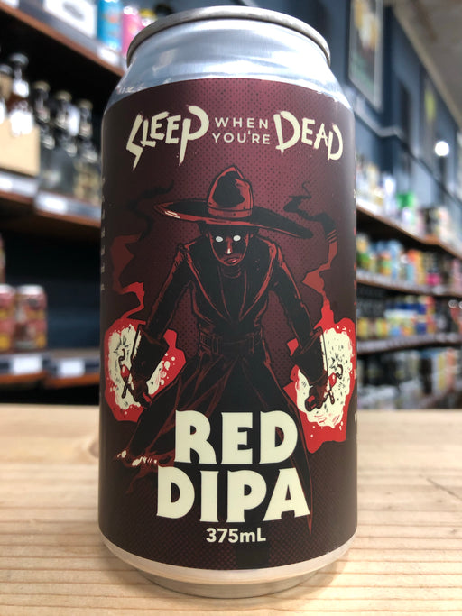 Ballistic Sleep When You're Dead Red Double IPA 375ml Can