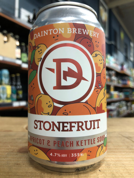 Dainton Stonefruit Apricot & Peach Kettle Sour 355ml Can