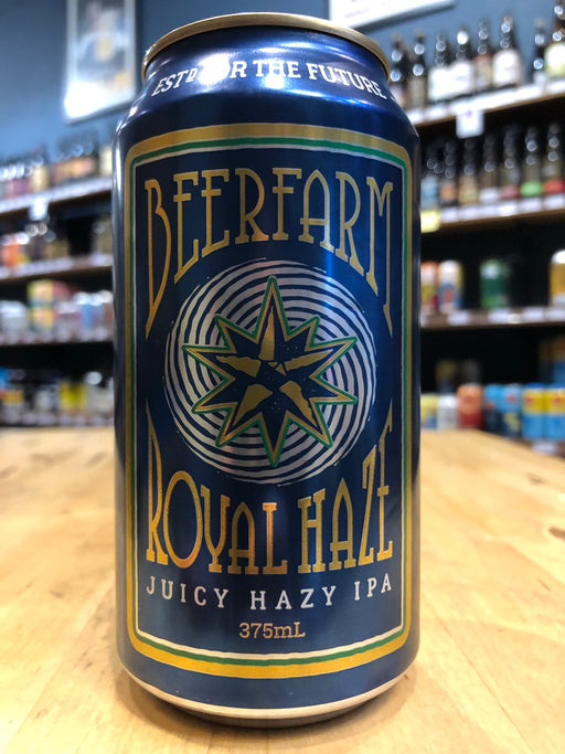 Beerfarm Royal Haze 375ml Can
