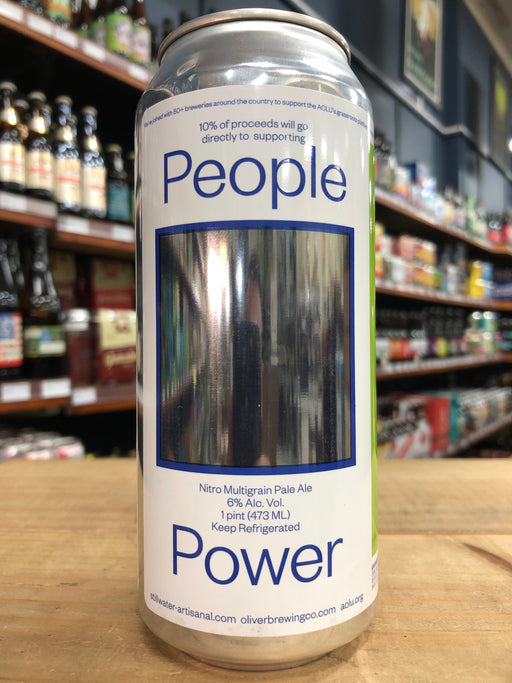 Stillwater / Oliver People Power Nitro Pale Ale 473ml Can