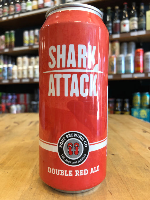 Port Brewing Shark Attack Double Red Ale 473ml Can
