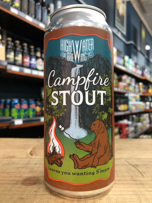 High Water Campfire Stout 473ml Can
