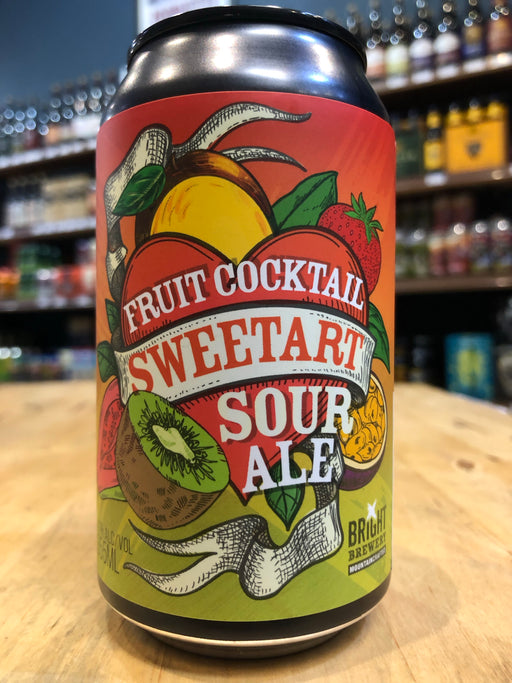 Bright Brewery Fruit Cocktail Sweetart 355ml Can