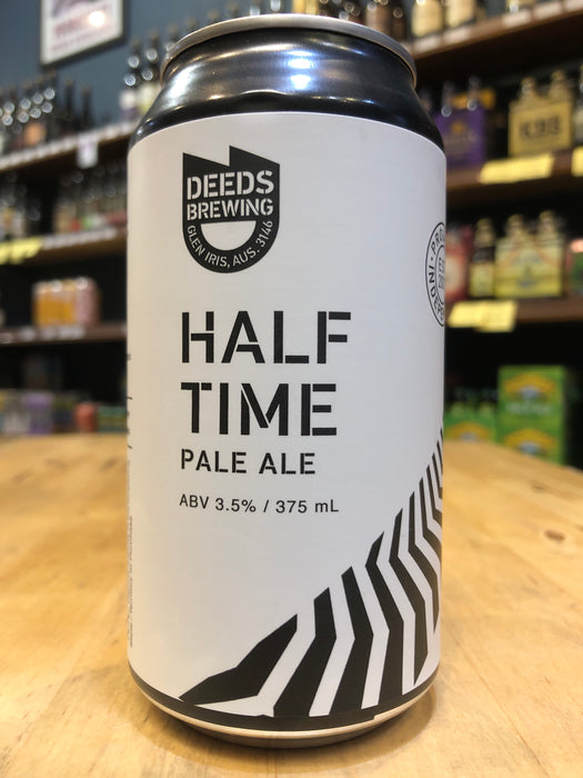 Deeds Half Time Pale Ale 375ml Can