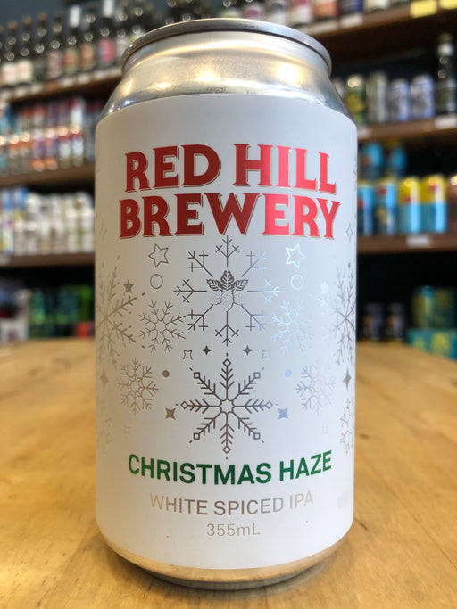 Red Hill Christmas Haze White Spiced IPA 355ml Can
