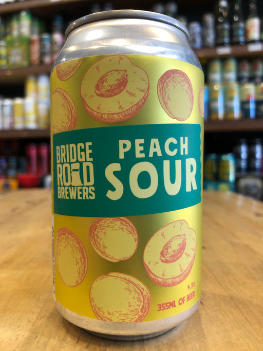 Bridge Road Peach Sour 355ml Can