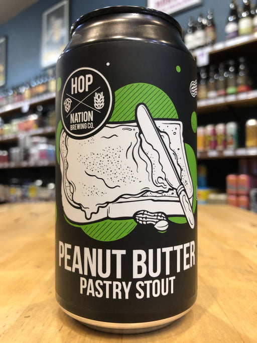 Hop Nation Peanut Butter Pastry Stout 375ml Can
