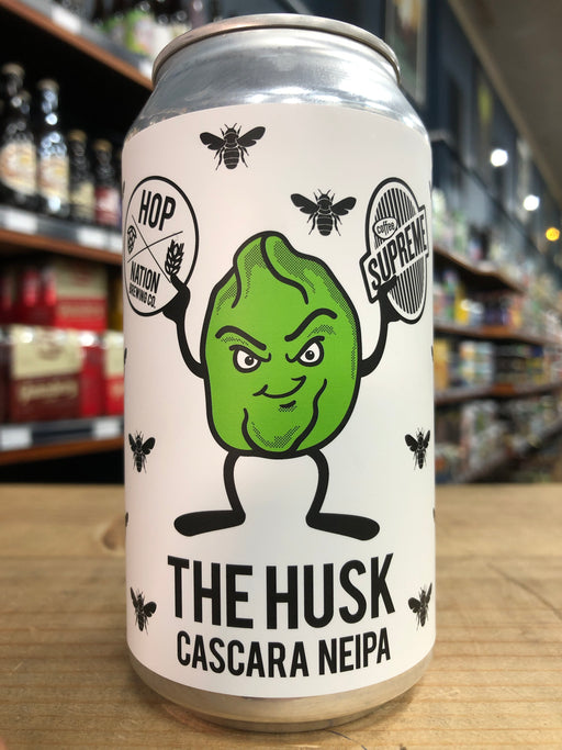 Hop Nation The Husk Cascara NEIPA 375ml Can