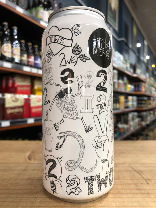 Offshoot 2 (Two) 2nd Anniversary Hazy Double IPA 473ml Can