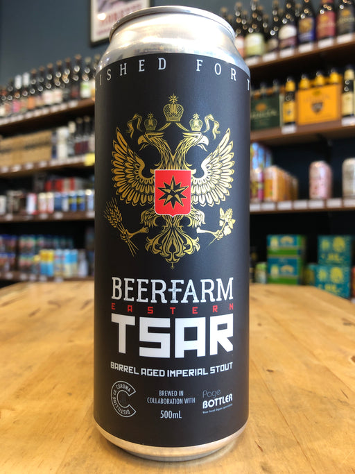 Beerfarm Eastern Tsar Barrel Aged Imperial Stout 500ml Can